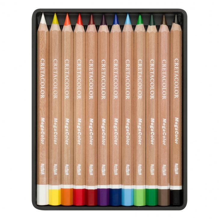 Learn Cretacolor Mega Graphite Lessons Cretacolor Mega Colour Pencil Sets - Prime Art Photos