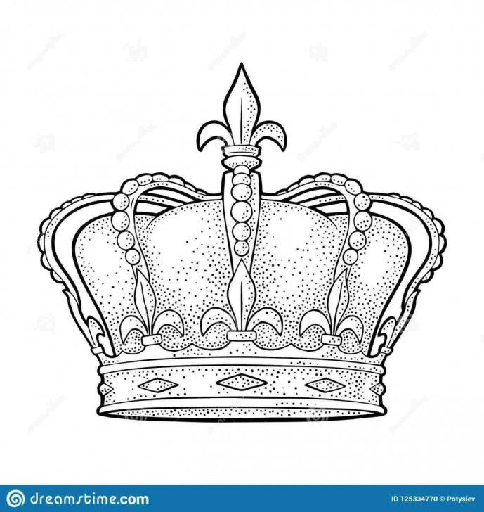 Learn Crown Pencil Drawing Ideas How To Draw A Crown - Draw Pencil Image