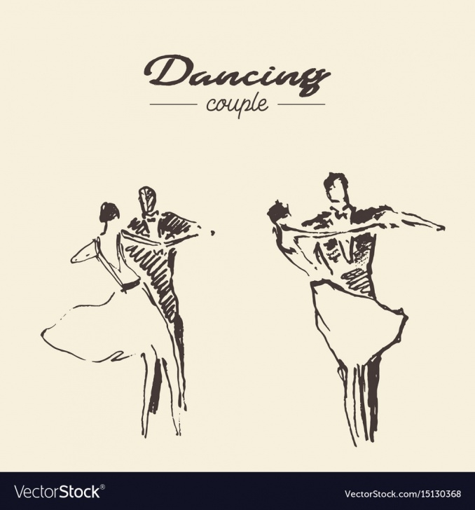 Learn Dancing Couple Sketch Techniques for Beginners Set Dancing Couple Draw Sketch Pics