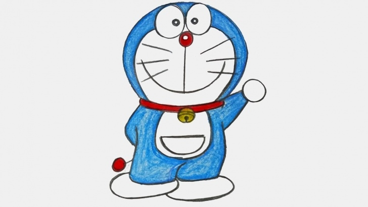 Learn Doraemon Pencil Sketch Simple How To Draw Doraemon Step By Step ( Very Easy) Pic