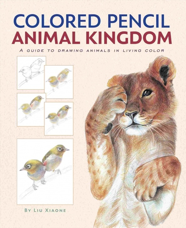 Learn Drawing Cute Animals In Colored Pencil Tutorial Proceeds-Benefit-Wildlife-Etsyrhetsycom-Fox-Drawing-Cute-Animals-In Pictures