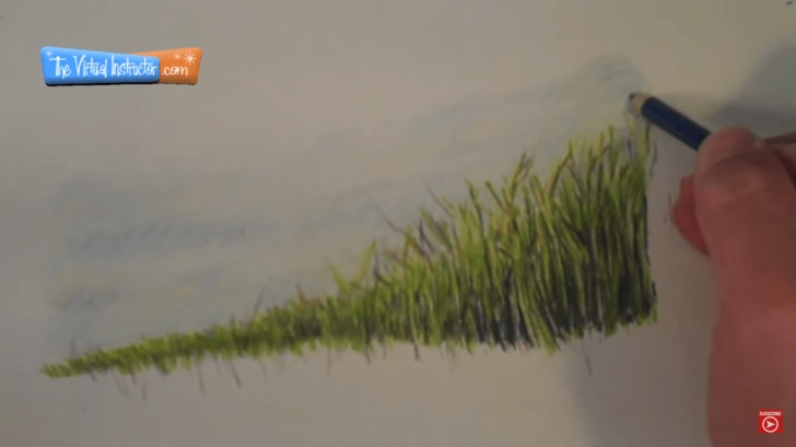 Learn Drawing Grass With Colored Pencil Techniques for Beginners How To Draw Grass – Colored Pencils By Thevirtualinstructor Photo