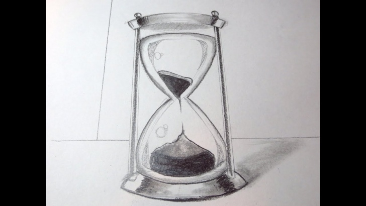 Learn Hourglass Pencil Drawing for Beginners How To Draw An Hour Glass Photo
