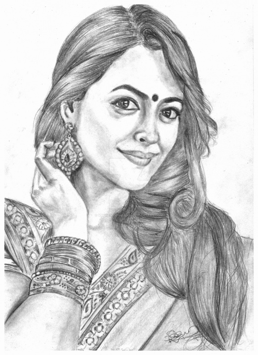 Learn Indian Pencil Drawing Tutorial Indian Sketches Art At Paintingvalley | Explore Collection Of Photo