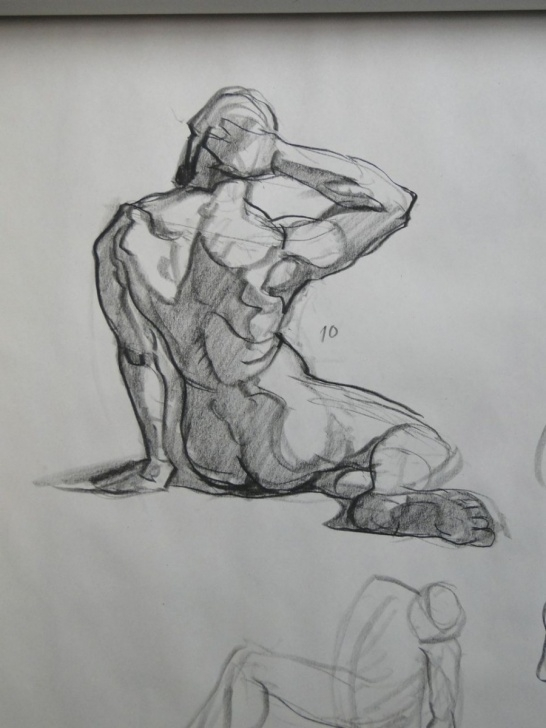 Learn Pencil Figure Drawing Lessons Pencil Figure Drawing & Composition – Ken Goldman-Complete | Goldman Pics