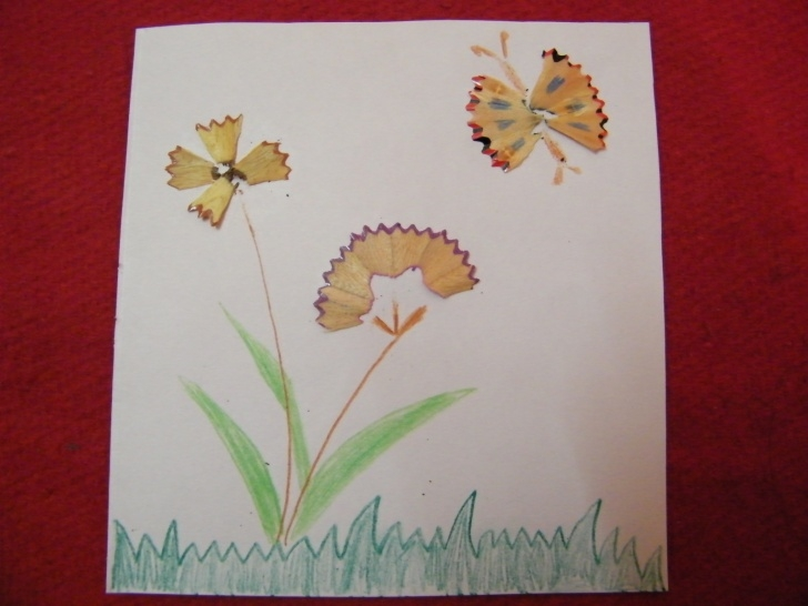 Learn Pencil Shaving Drawing Tutorial How To Make Pencil Shavings Art - Kids Crafts & Activities - Kids Pic
