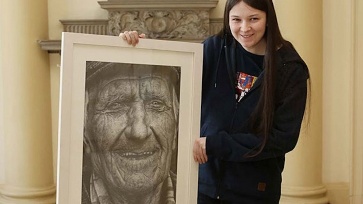 Learn Shania Mcdonagh Drawings for Beginners Ultra-Realistic Drawing Shows The Amazing Skills Of A 16-Year-Old Girl Pic