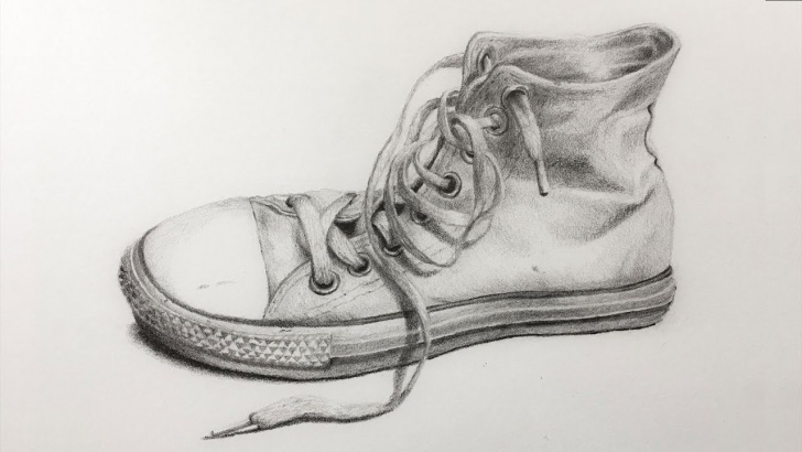Shoe Pencil Drawing