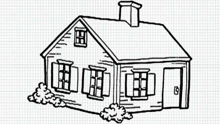 Learn Simple Pencil Drawings Of Houses Techniques for Beginners House Sketch Easy At Paintingvalley | Explore Collection Of Pictures