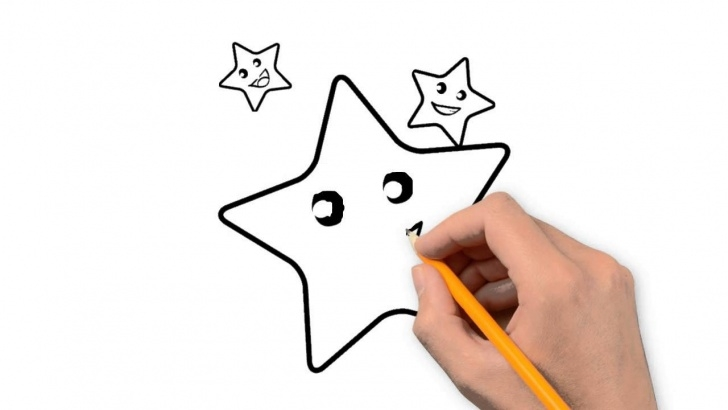 Learn Star Pencil Drawing Techniques for Beginners Star Nature Pencil To Draw Step By Step Image