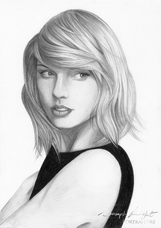 Learn Taylor Swift Pencil Drawing Lessons 11+ Taylor Swift Pencil Drawing - Pencil Drawing - Drawing Sketch Images