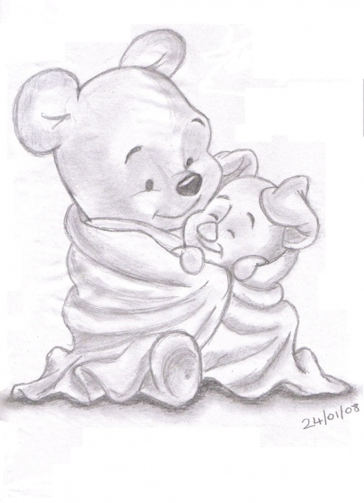Learn Winnie The Pooh Pencil Drawings for Beginners Sketches Of Disney Characters | Pencil Sketches Of Disney Pics