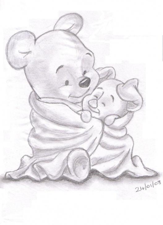 Winnie The Pooh Pencil Drawings