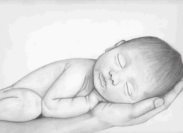 Learning Baby Drawings In Pencil for Beginners Easy Pencil Drawings Of Babies - Gigantesdescalzos Pic