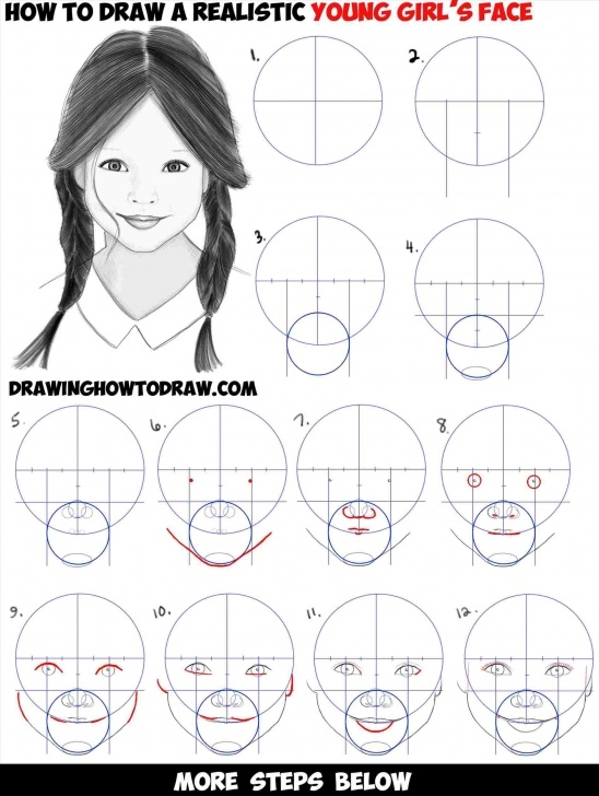 Learning Basic Portrait Drawing Tutorial Basic Portrait Drawing Tutorial | Drawing Work Pics