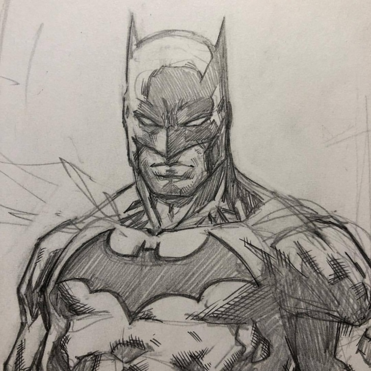 Learning Batman Pencil Drawing for Beginners Batman Pencil Drawing At Paintingvalley | Explore Collection Of Images