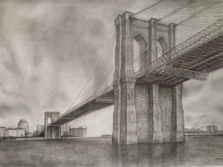 Learning Bridge Pencil Drawing Lessons Architectural Drawings Of Bridges Rail For More Tips And Techniques Picture