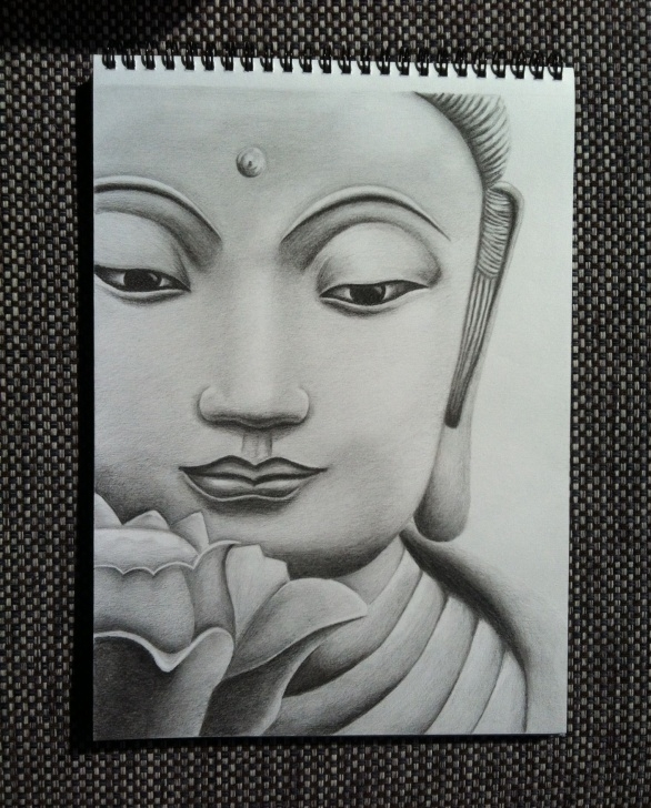 Learning Buddha Pencil Sketch Simple Lord Buddha – Pencil Sketches | Buddha | Buddha Drawing, Pencil Pic