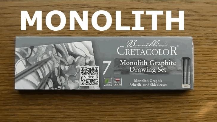 Learning Cretacolor Monolith Set Tutorials World's Best Woodless Pencils Or What? | Cretacolor Monolith Woodless Review Pic