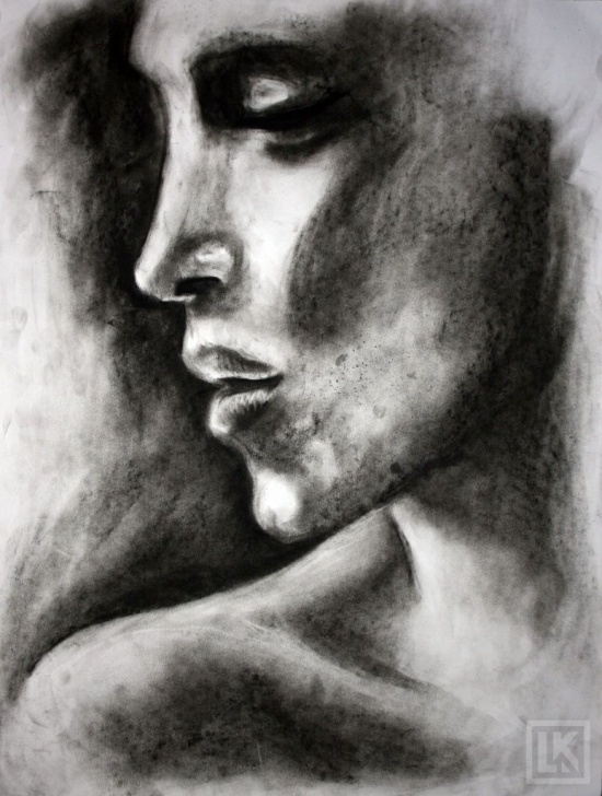 Learning Easy Charcoal Drawings Ideas Easy Charcoal Sketches For Beginners  | Art In 2019 | Easy Image