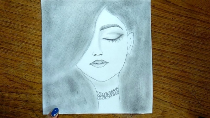 Learning Easy Pencil Sketch Drawings Courses Simple Pencil Drawing - Cute Drawings Of A Girls Picture Easy Pictures