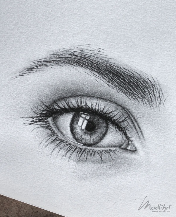 Learning Eye Pencil Art Lessons Sketchbook Drawing Of An Eye Close Up I Pencil Art Idea I Eye Photo