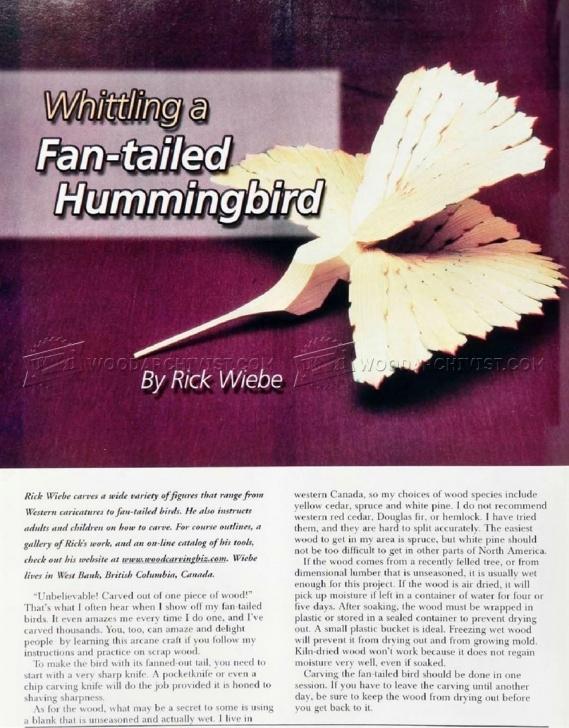 Learning Fan Bird Carving Patterns Simple 1516 Fan Bird Carving - Wood Carving | Woodworking | Carving, Wood Photo