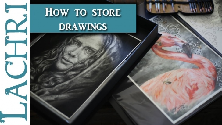 Learning Graphite And Colored Pencil Step by Step How To Store Finished Colored Pencil And Graphite Drawings - Art Q&a W/  Lachri Pictures