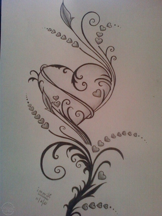 Learning Heart Pencil Art Free Pin By Melissa Holt On Peace | Pencil Drawings Of Love, Pencil Pics