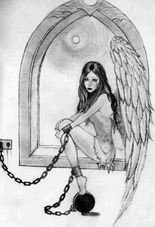 Learning Heart Touching Pencil Sketches Ideas Sketches-Heart-Touching-Pencil-Drawing-Pic-Angels-Rhslycom-Sirf Pics