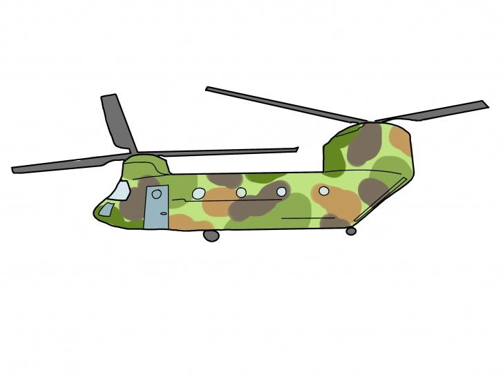 Learning Helicopter Pencil Drawing Courses How To Draw A Helicopter (With Pictures) - Wikihow Picture