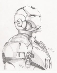 Learning Iron Man Pencil Sketch Ideas Iron Man Sketch By Tyndallsquest.deviantart On @deviantart Pic