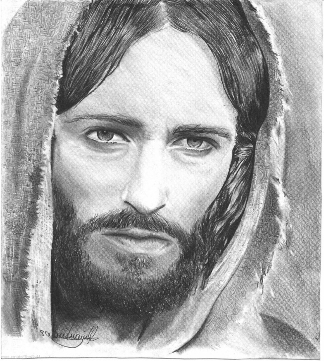 Learning Jesus Painter Pencil Drawings Easy Jesus Face Pencil Drawing At Paintingvalley | Explore Collection Pics