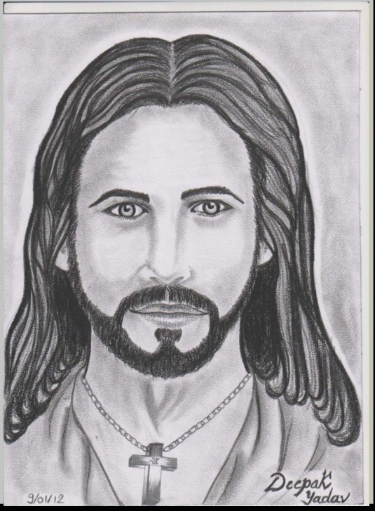Learning Jesus Painter Pencil Drawings for Beginners Jesus Painter Pencil Drawings And Jesus Painter Pencil Drawings Image