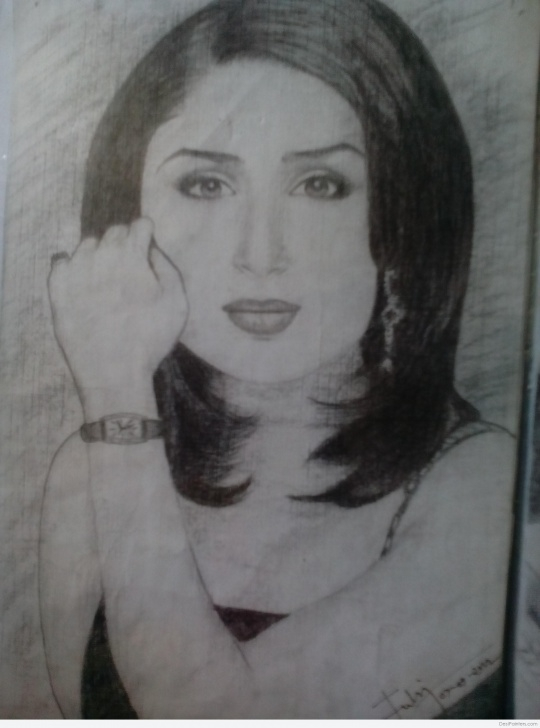 Learning Kareena Kapoor Sketch Lessons Pencil Sketch Of Kareena Kapoor | Desipainters Pics