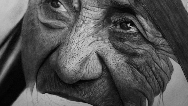 Learning Kelvin Okafor Drawings Simple Artist Kelvin Okafor's Photo-Realistic Portraits - Cnn Style Photo