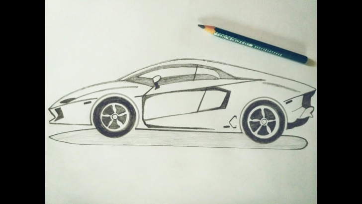 Learning Lamborghini Pencil Drawing Step by Step How To Draw Lamborghini Car Sketch Tutorial In Simple Easy Step By Step For  Kids. Drawing: A Car Image