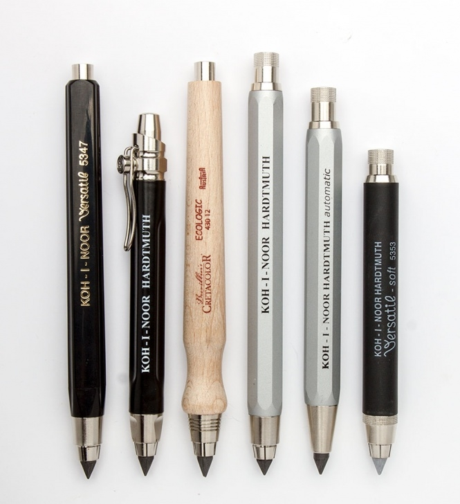 Learning Mechanical Pencil Lead Differences Simple Why Use A Clutch Pencil? - Jackson's Art Blog Picture