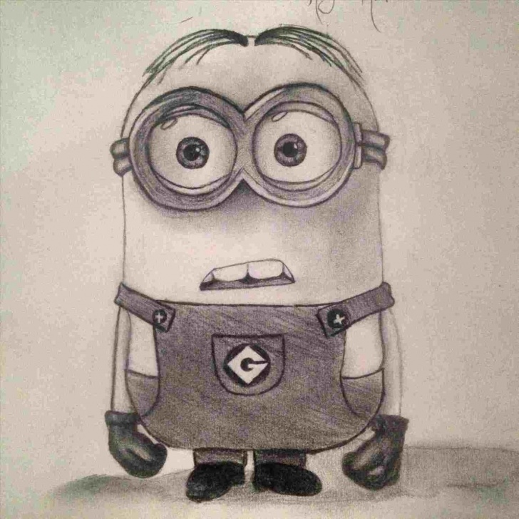 Learning Minion Pencil Drawing Lessons Go-Easy-Rhyoutubecom-How-Minions-Pencil-Drawing-To-Draw-Pikachu-Step Pic