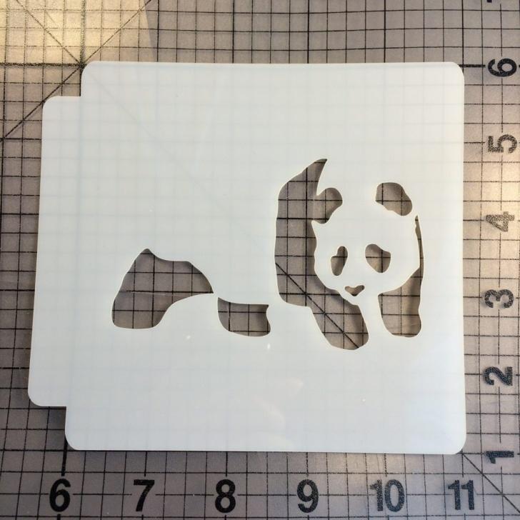 Learning Panda Stencil Art Free Panda Stencil 102 Pic