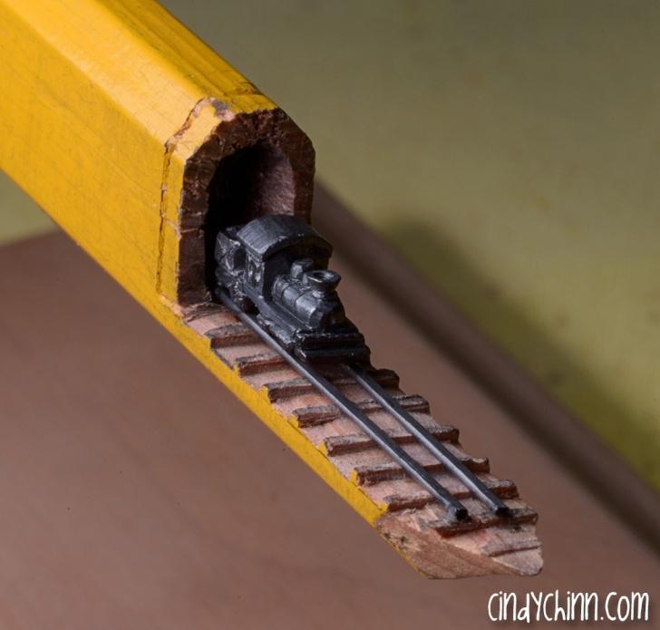 Learning Pencil Carving Pencils Tutorials Pencil Lead Carvings - Cindy D Chinn Pics