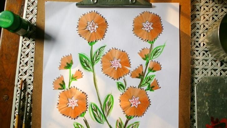 Learning Pencil Shaving Art Easy Pencil Shavings Art - Album On Imgur Images