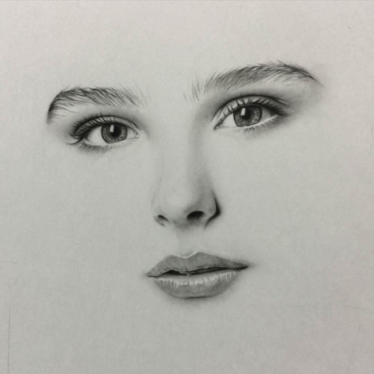 Learning Pencil Sketch Of Girl Face Tutorials Pencil Sketch Face Drawing And Pencil Sketch Faces Pencil Sketches Photo