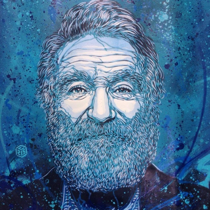 Learning Robin Williams Stencil Lessons Recent Stencil Graffiti From C215 | Colossal Images