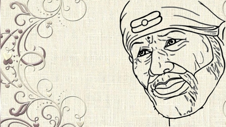 Learning Sai Baba Pencil Sketch Step by Step Sai Baba Drawing Pictures