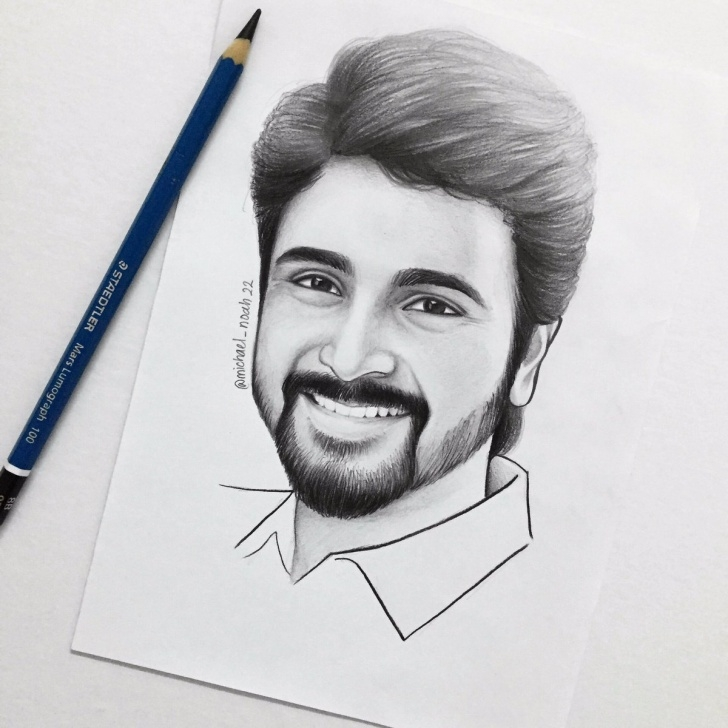 "Learning Sivakarthikeyan Pencil Drawing for Beginners Sivakarthikeyan On Twitter: ""tis Art Looks Sooo Real ??great Work Photo"