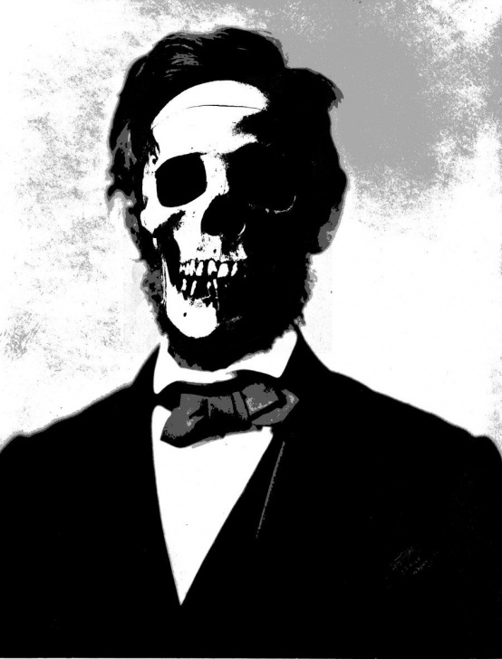 Learning Skull Graffiti Stencil Free Abe Lincoln Skull Stencil By ~Bookabooka On Deviantart | Mister Abe Image