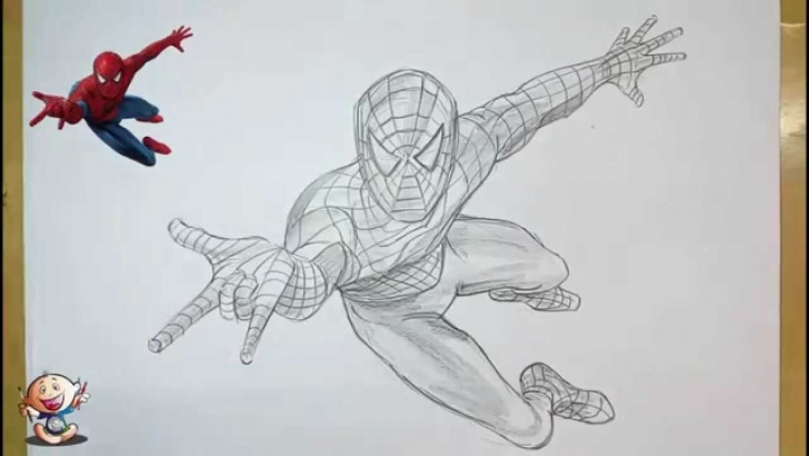 Learning Spiderman Drawings In Pencil Easy Techniques Collection Spiderman Drawings In Pencil Pictures - Sabadaphnecottage Photos