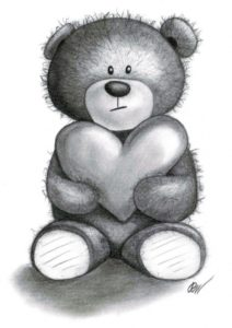 Learning Teddy Bear Drawings Pencil Tutorial Teddy Bear Drawings | Traditional Art / Drawings / Portraits Images