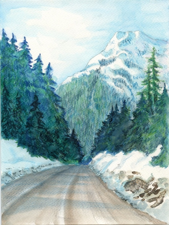 Learning Watercolor Pencil Landscape Lessons Technique Of The Week — Watercolour Pencils | Karen Gillmore Art Photos